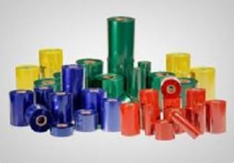 Empresa de Ribbon Filme Vermelho Campo Largo - Filme Ribbon para Datador