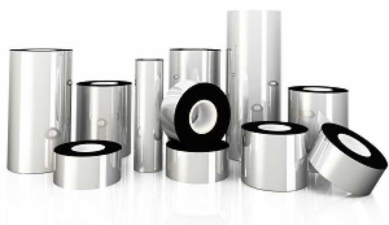 Empresa Que Vende Ribbon de Etiqueta de Impressora Etiqueta Criciúma - Ribbon Branco de Impressora Etiqueta