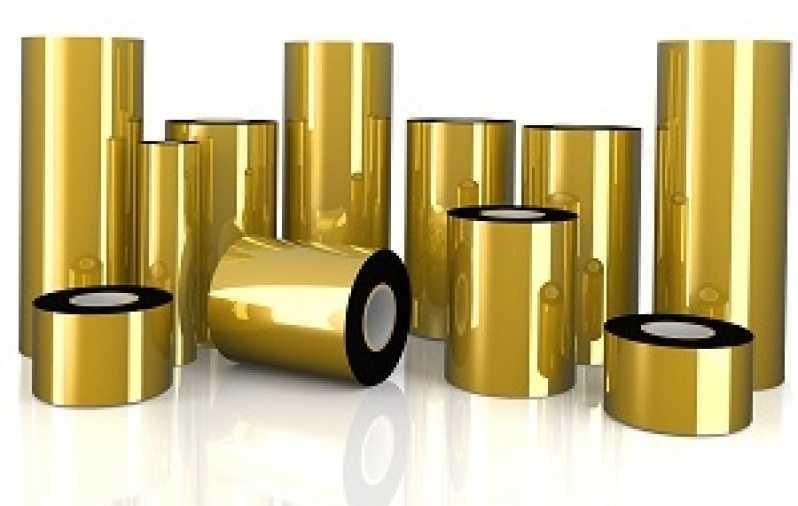 Empresa Que Vende Ribbon Impressora Tipo Etiqueta Sergipe - Ribbon de Impressora Etiqueta