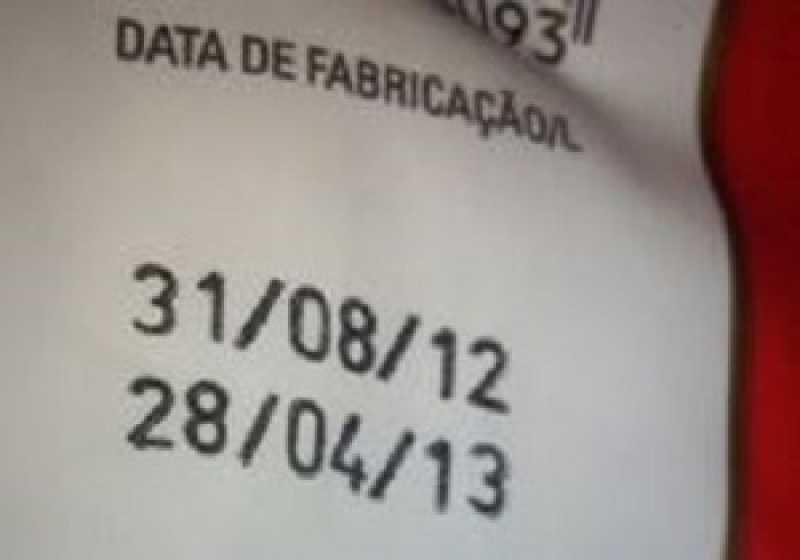 Hot Stamping Máquina para Lojas Bahia - Carimbo Datador Hot Stamping