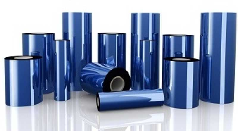 Ribbon para Impressora Térmica Valor Criciúma - Ribbon para Impressora de Etiqueta