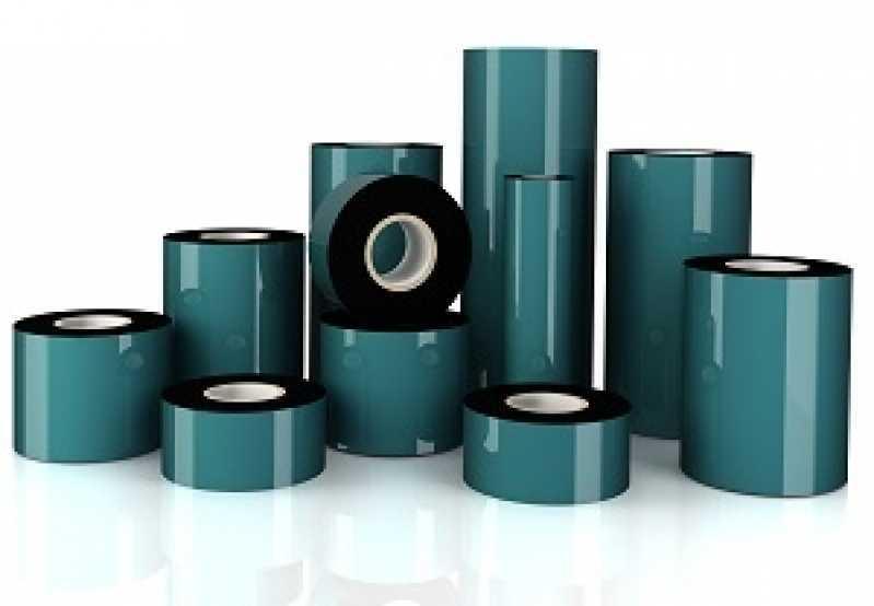 Ribbon para Impressora Termo Valor Brusque - Impressora Ribbon Preto